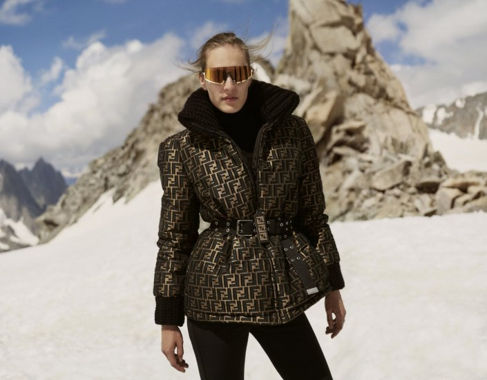 Winter production in Chamonix for NET-A-PORTER with Jon Wetherell